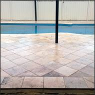 Pool surround clean and seal