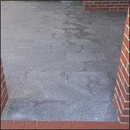 granite clean before