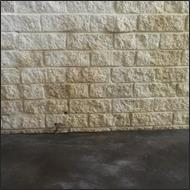 wall after paint removal