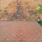 Driveway Cleaning - Oil Stain Removal